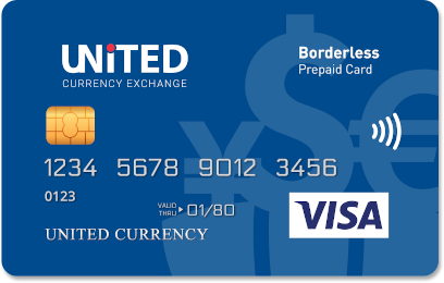 Borderless Prepaid Card